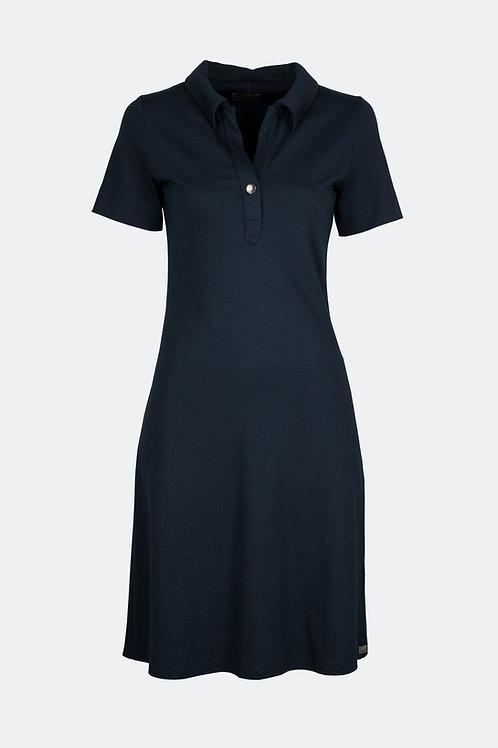 Polo Kleid - blau