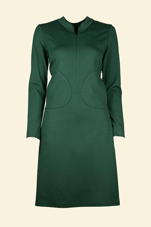 Kleid Gesche - flaschengrün