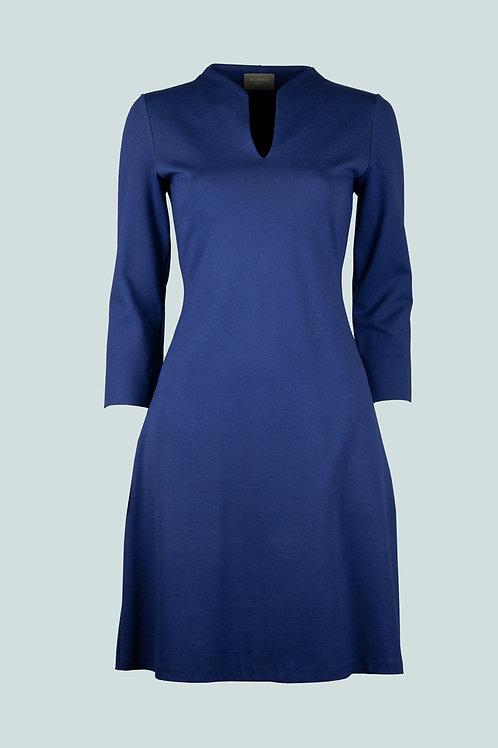 Kleid Sandra - köningsblau