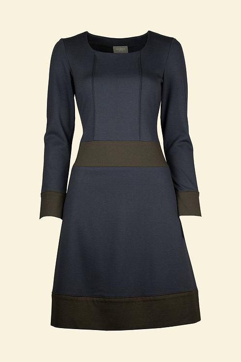 Kleid Svea - blaubraun