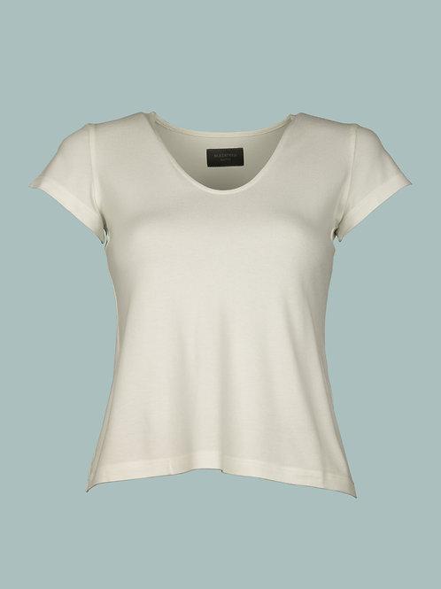 V-Shirt - ecru