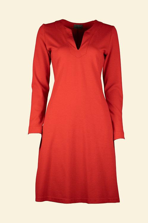 Kleid Bergit - rot