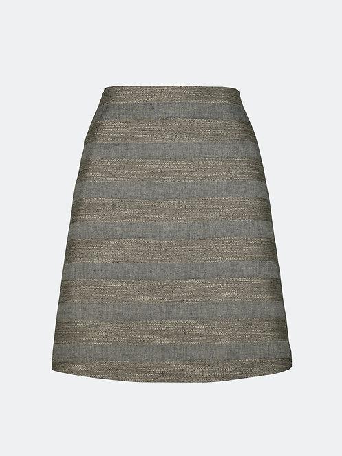 Rock Nelia - Streifen grau