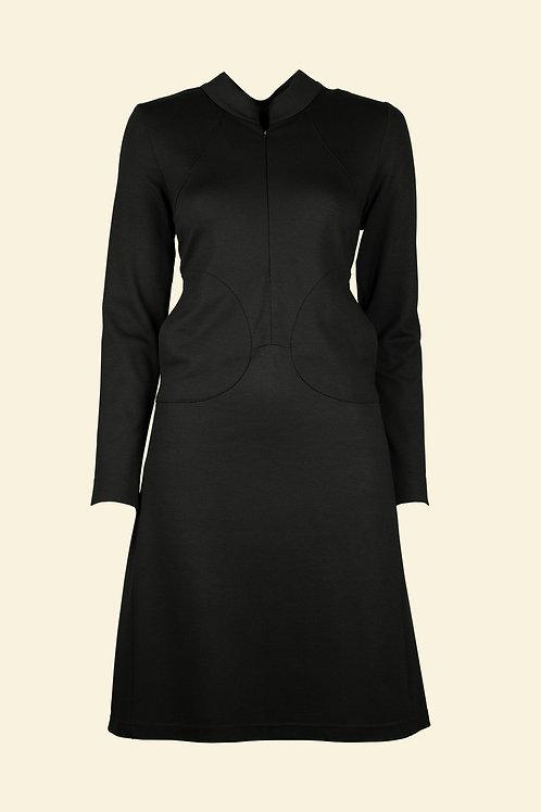 Kleid Gesche - schwarz