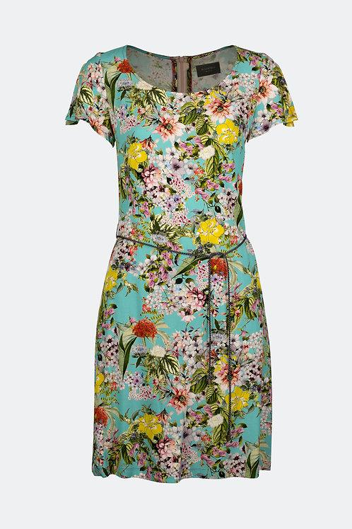 Kleid Angela - Bouquet Pastell