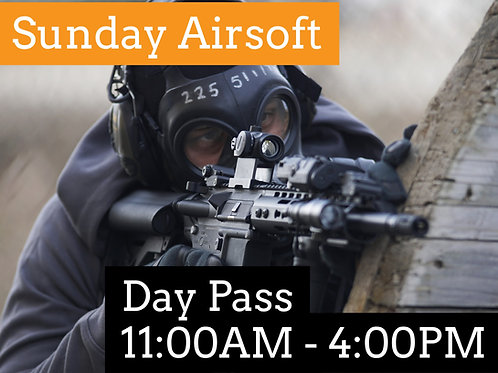 October 4th: Airsoft Admission (Session 1)
