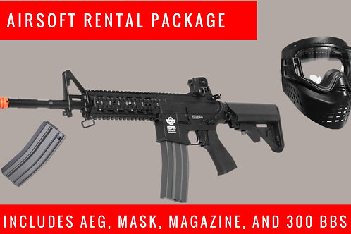 Airsoft Rental Package (January 23rd)