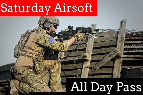 January 23rd: Airsoft Admission