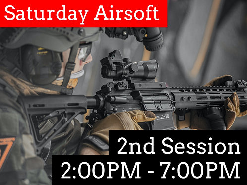 October 3rd: Airsoft Admission (Session 2)