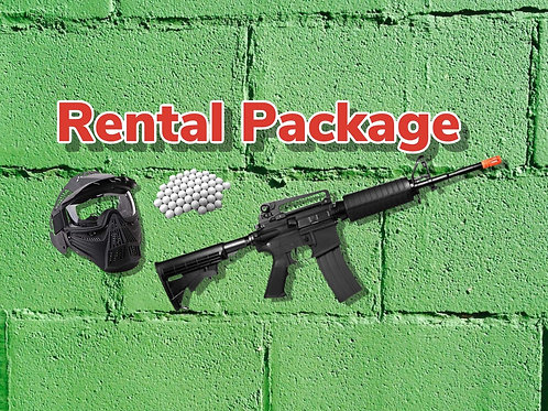 Airsoft Rental Package (Wednesday Night Airsoft)