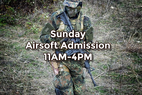 April 18th: Airsoft Admission