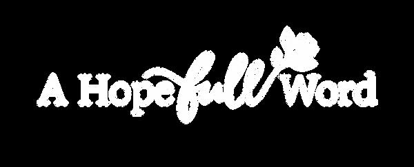 A Hopefull Word logo design