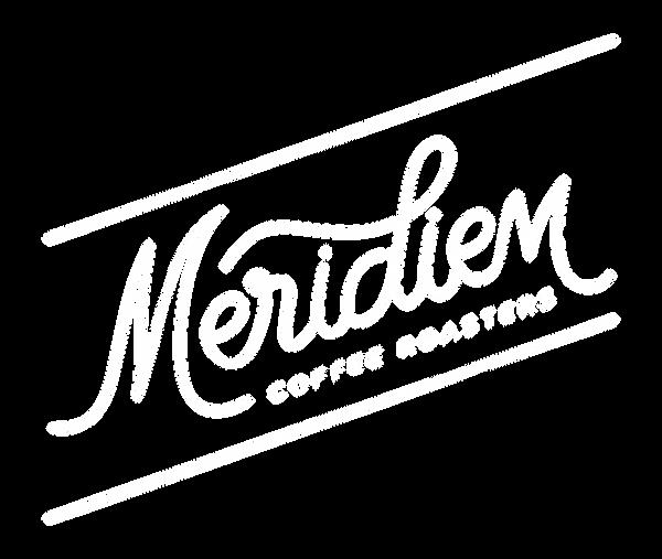Meridiem Coffee Roasters alternate logo mark design