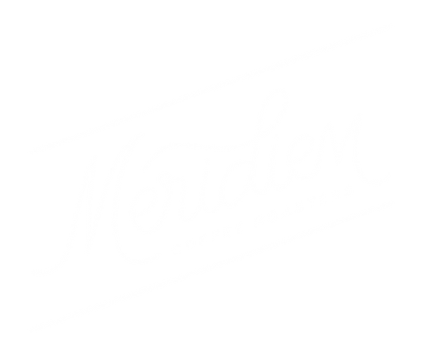 Meridiem Coffee Roasters alternate logo mark design