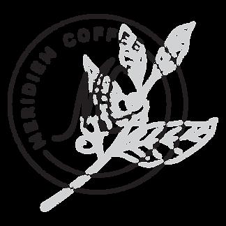 Meridiem Coffee Roasters badge logo mark design