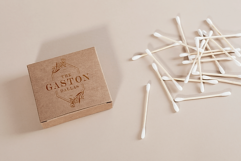 The Gaston Dallas packaging mock up design