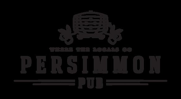Persimmon Pub logo design