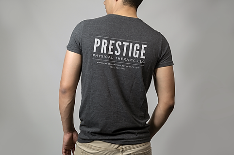 Prestige t-shirt design mock up