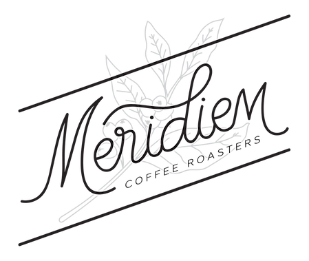 Meridiem Coffee Roasters logo mark design