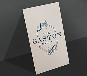 Gaston Dallas branding