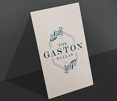 Gaston Dallas branding
