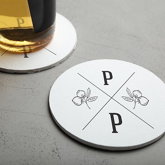Persimmon Pub submark logo mark