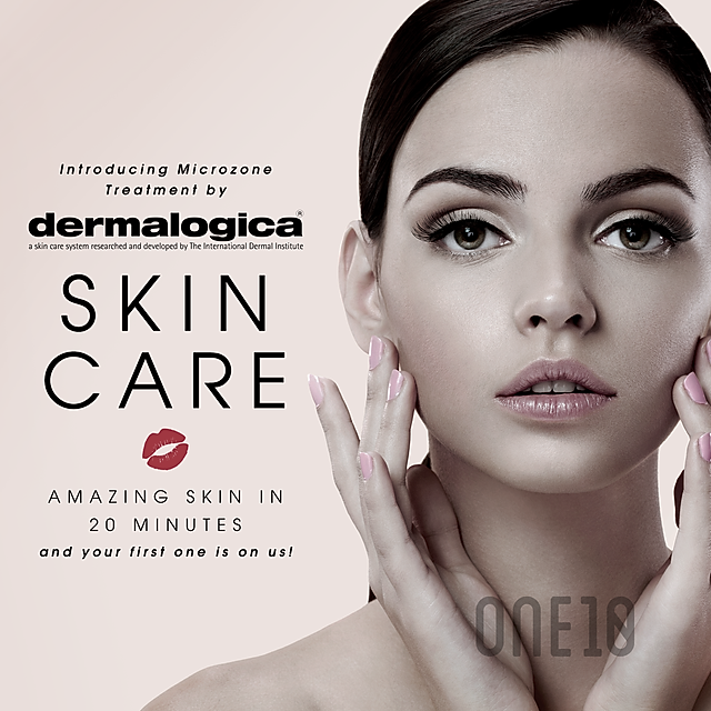 One10 Beauty web and print ad