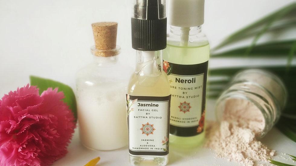 Oily/Sensitive Skin Routine