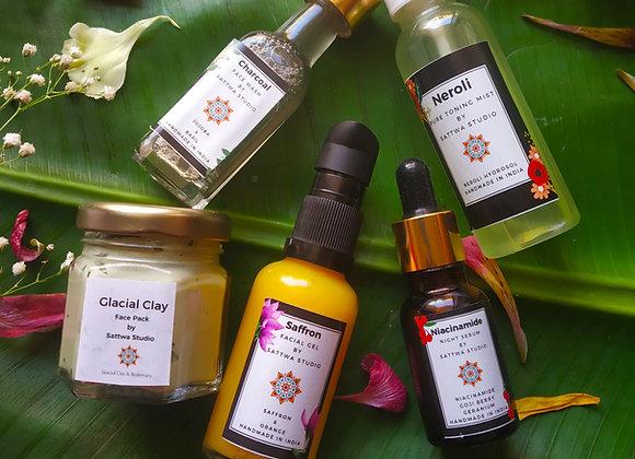 Oily & Pimple Prone Skin Routine