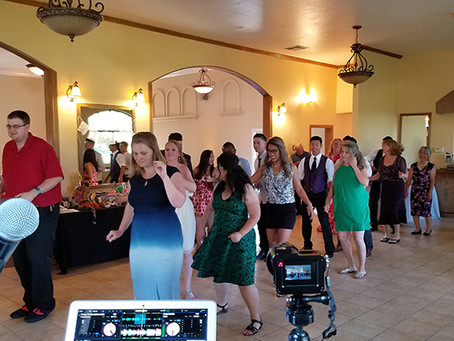 Rios Lovell Winery Wedding in Livermore - DJ, MC and Photobooth