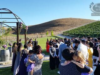 Antoinette and Sergio's Wedding - Nella Terra Cellars, Sunol