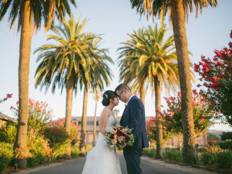 Rita and John get married at The Palm Event Center in Pleasanton - Sound Wave Mobile DJ