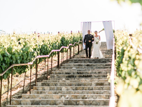 Nella Terra Cellars - Ashley and Tyler Get Married in Sunol - Sound Wave Mobile DJ