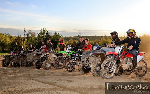 Scenic View of Dirt Bikes & Quads at RMTP Dreamcatcher Photography