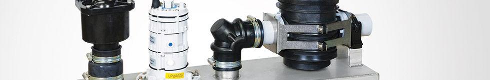 Клапан вакуумный интерфейсный для внутренней вакуумной канализации