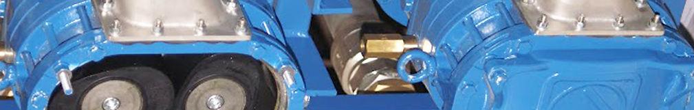 Вакуумные насосные установки с роторно-кулачковым насосом