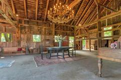 Inside of Large Barn