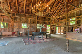 Inside of Large Barn