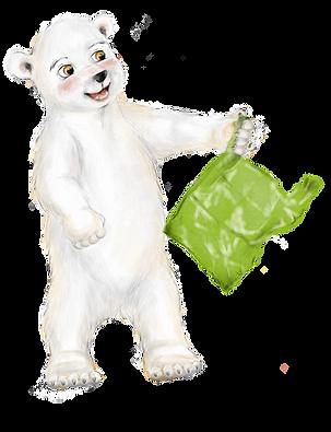 Polli mit Plastiktüte  Freigestellt.png
