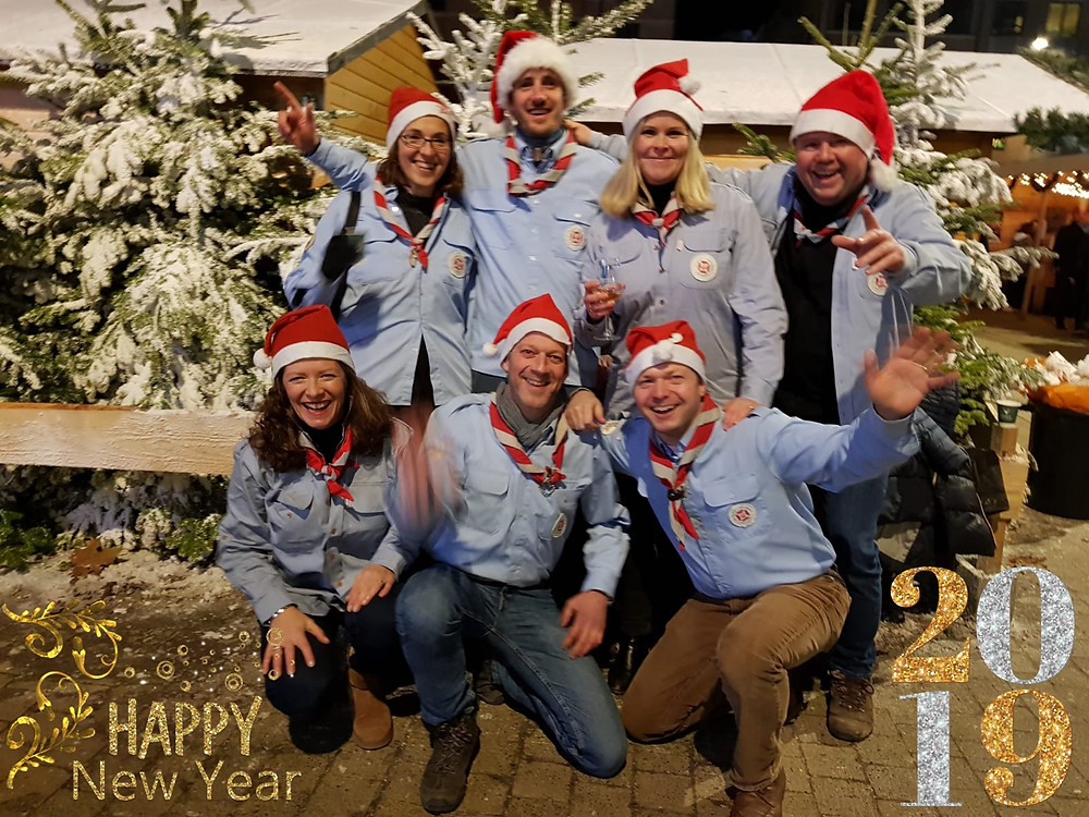 L'ensemble du Staff d'unité de Bonlez vous souhaite une très bonne année !!!