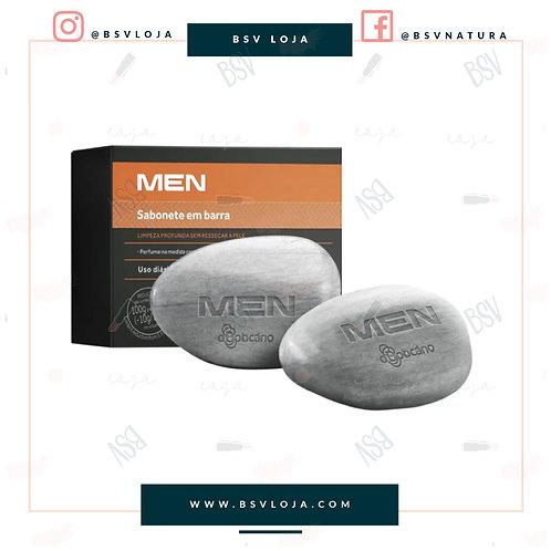 Sabonetes Perfumados MEN, 2 unidades de 90g cada