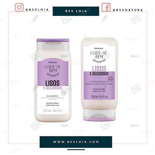 Kit Lisos Shampoo+Condicionador
