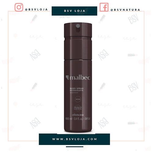 Desodorante Body Spray Malbec, 100 ml