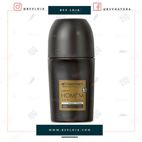Desodorante Antitranspirante Roll-On Natura Homem Dom