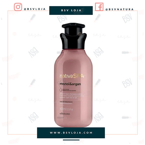 Nativa SPA Loção Hidratante Monoï & Argan 400ml