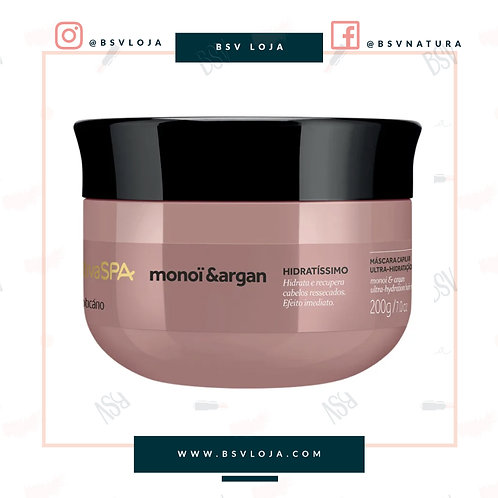 Máscara Capilar Nativa SPA Monoï & Argan, 200g