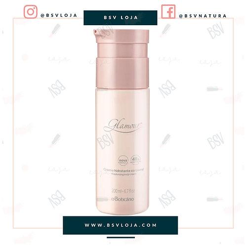 Creme Desodorante Hidratante Corporal Glamour, 200ml