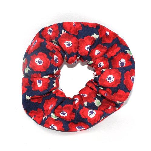 Red Poppy Scrunchie