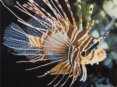 Lionfish Original Painting