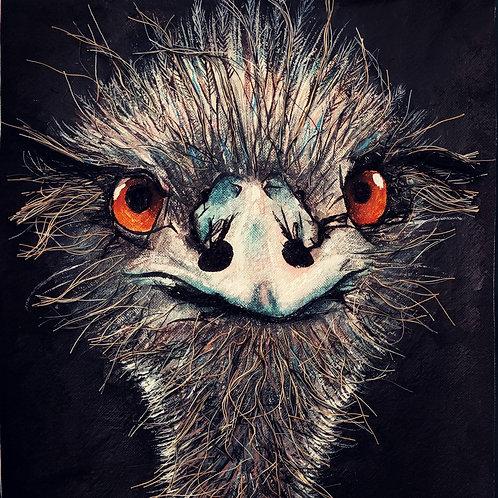 Threaded Animal Portraits